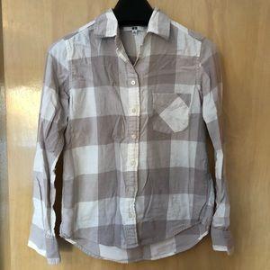 Uniqlo Flannel Button Down Women's Shirt